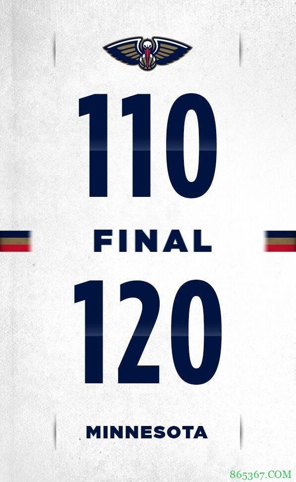 爱德华兹18分 英格拉姆30分 森林狼力克鹈鹕止4连败