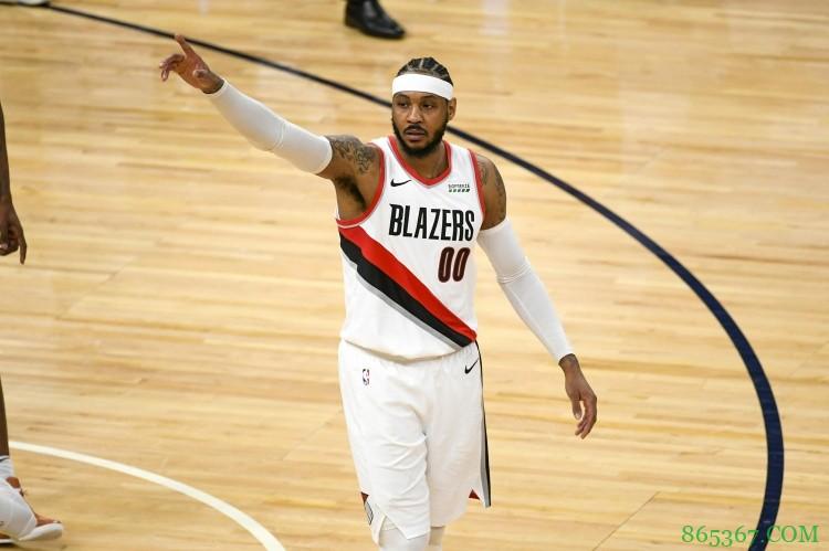 安东尼生涯常规赛得分超埃尔文-海耶斯 升至NBA历史第十