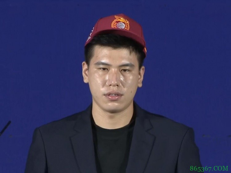 2021CBA选秀大会:山西探花签选择中南大学内线黎璋霖