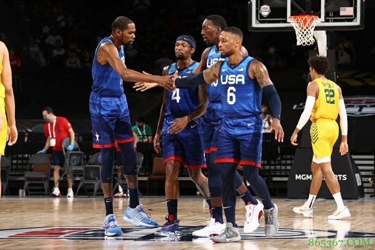 梦魇队?美国男篮阵中仅剩下6名健康球员